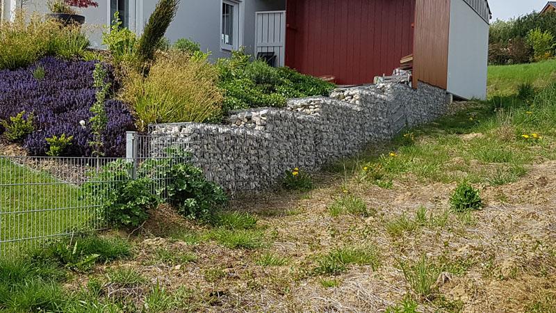 Gabionen- & Mauerbau