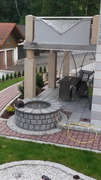 Brunnen und Teichbau